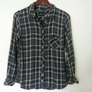 Rails Flannel Plaid Button Shirt Size Small
